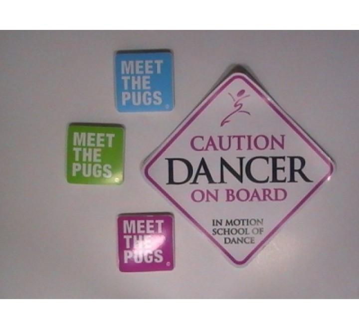 Square Laptop Stickers