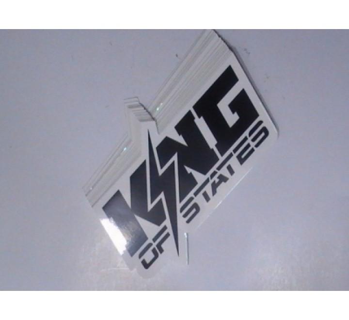 Square Logo Stickers