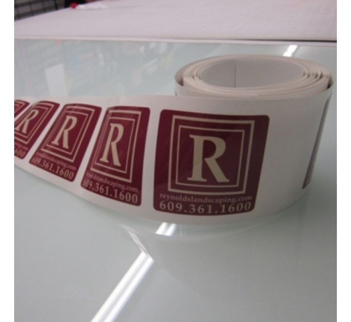 Personalized Roll Stickers