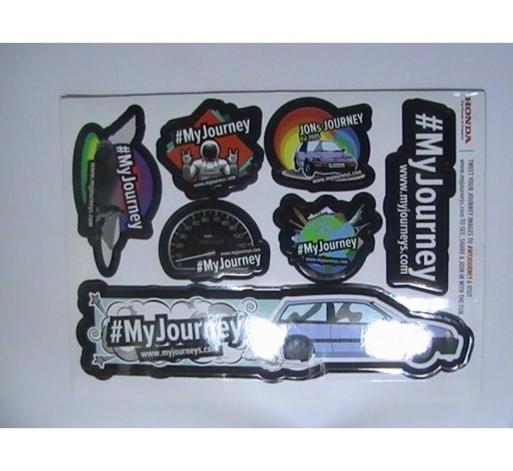 Die Cut Bumper Stickers