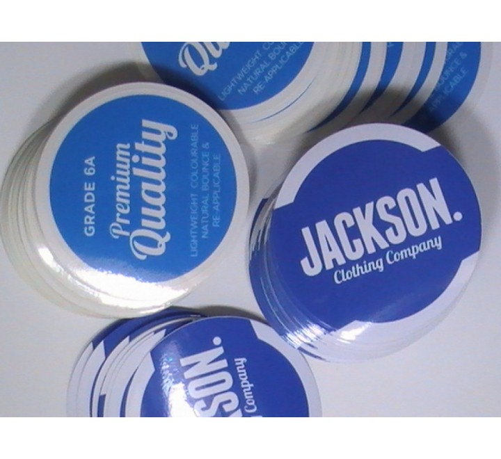 Round Car Stickers