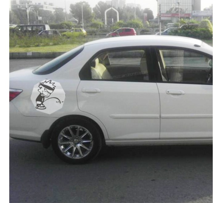 Octagon Car Stickers