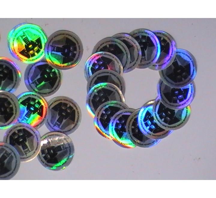 Round Hologram Stickers