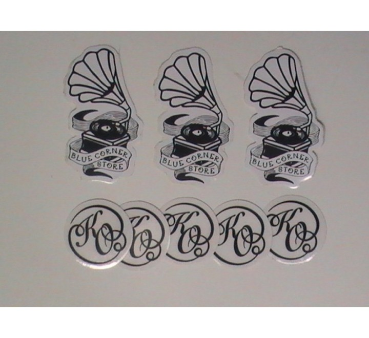 Die Cut Band Stickers