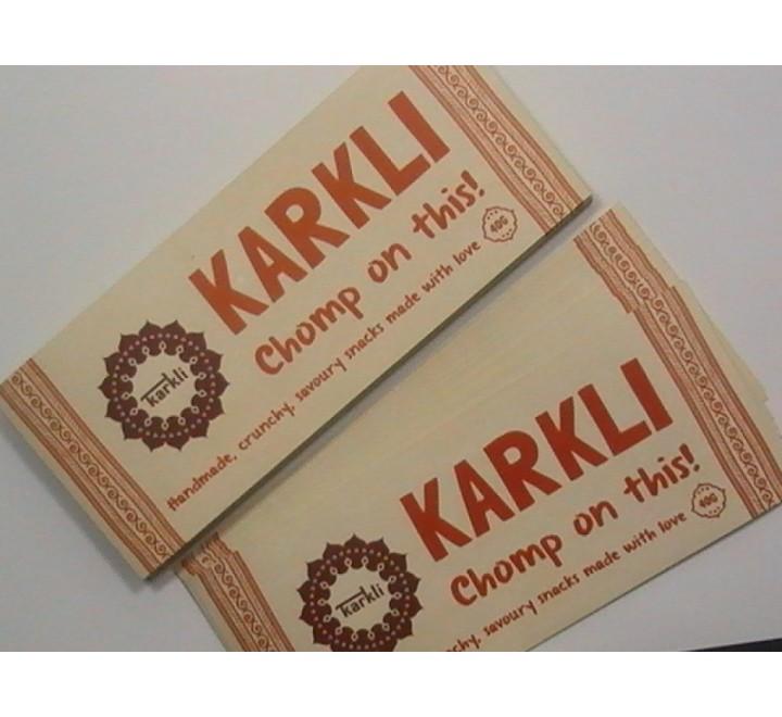 Rectangular Stickers Paper