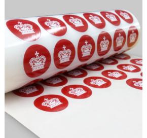 Round Roll Stickers