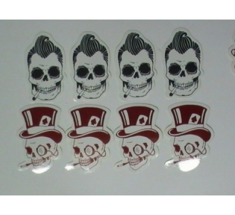 Die Cut Stickers Paper