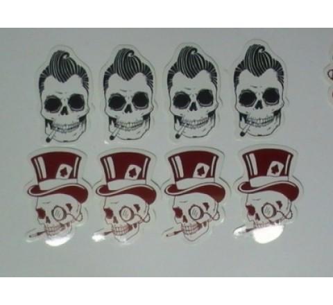 Die Cut Stickers Paper