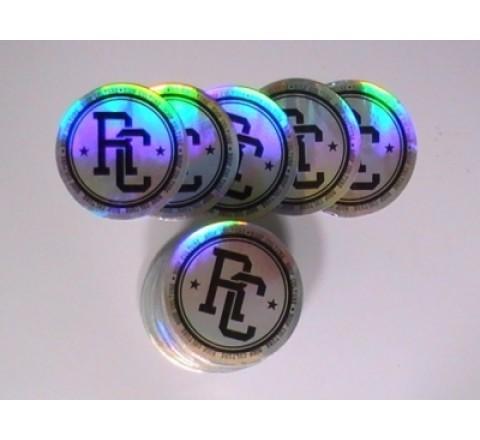 Round Truck Stickers