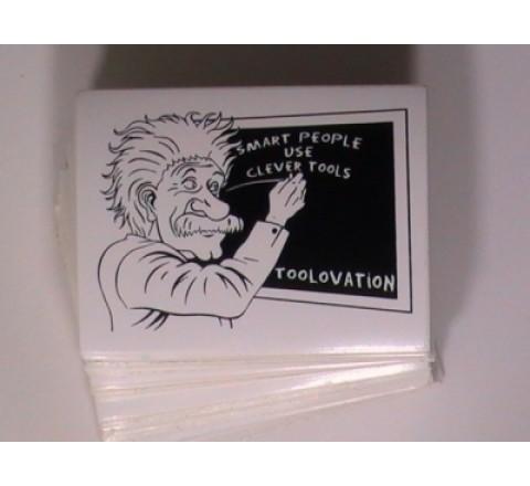 Oval Waterproof Stickers