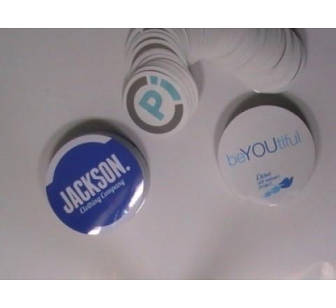 Round Waterproof Stickers