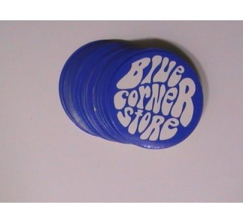 Hexogen White Vinyl Stickers