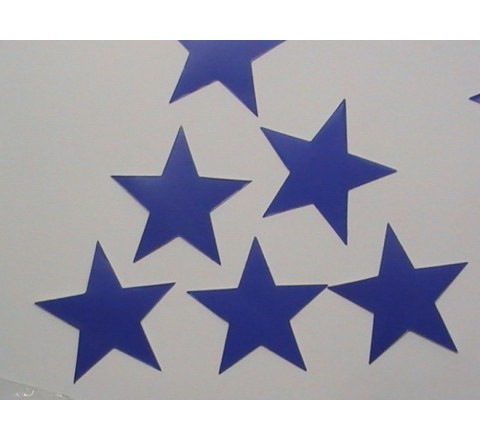 Die Cut White Vinyl Stickers