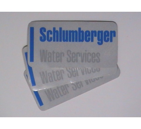 Rectangular Packging Stickers