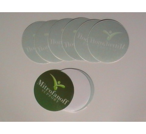 Round Window Stickers