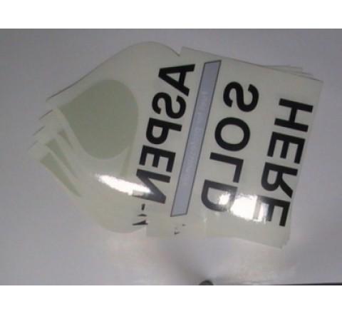 Hexogen Auto Stickers