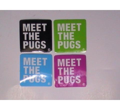 Square Auto Stickers