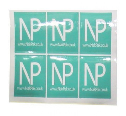 Square Band Stickers