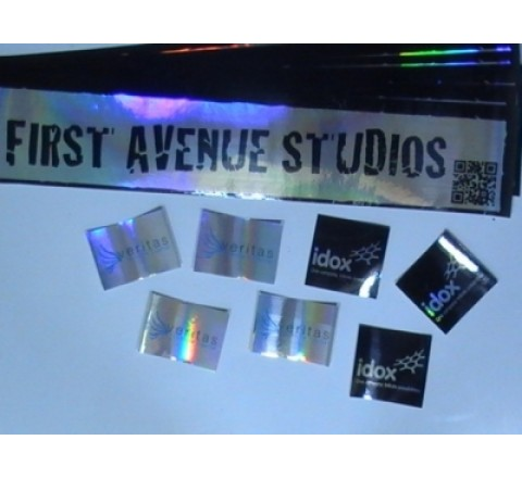 Personalized Foil Stickers