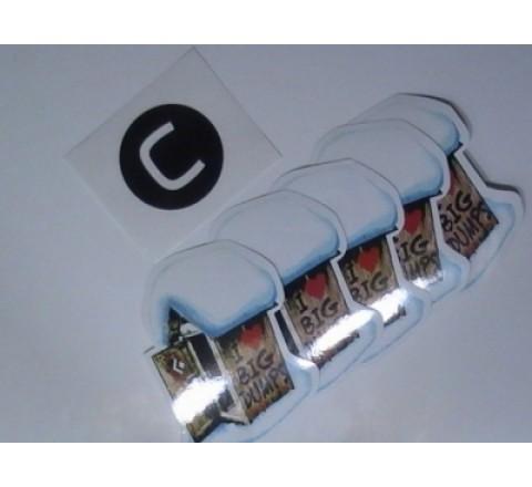 Octagon Laptop Stickers