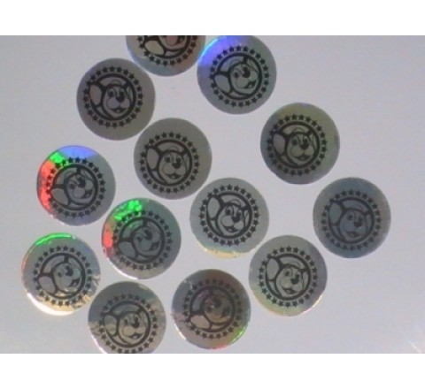 Round Laptop Stickers