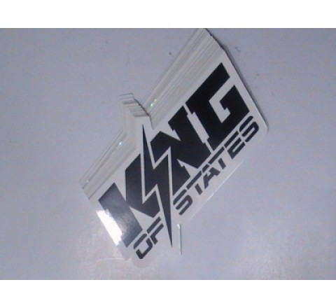 Square Logo Stickers