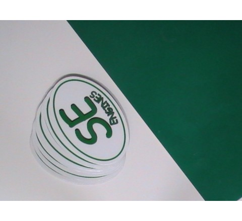 Oval Reflective Stickers