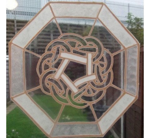 Octagon Window Stickers