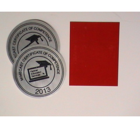 Personalized Metallic Stickers