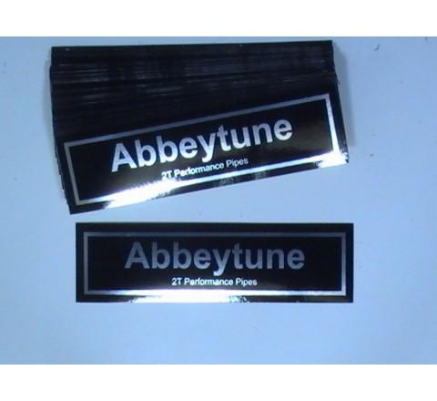 Rectangular Metallic Stickers