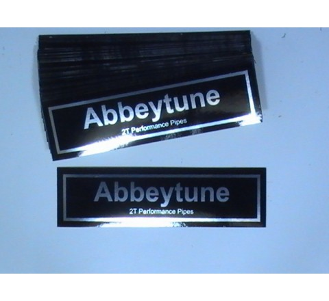 Rectangular Foil Stickers